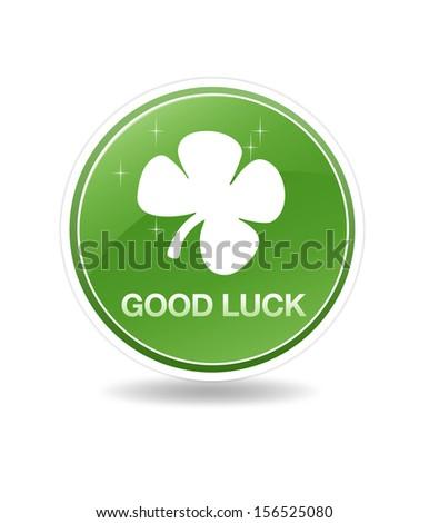 Good Luck Icon - stock photo