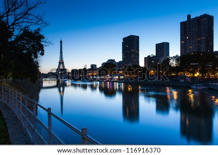 paris skyline stock images royalty free images vectors shutterstock. Black Bedroom Furniture Sets. Home Design Ideas