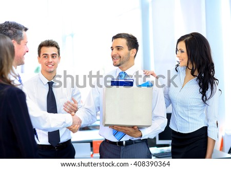 Good new job - stock photo