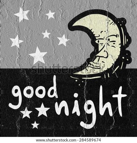 Good night - stock photo