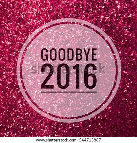 Image result for glitter words goodbye
