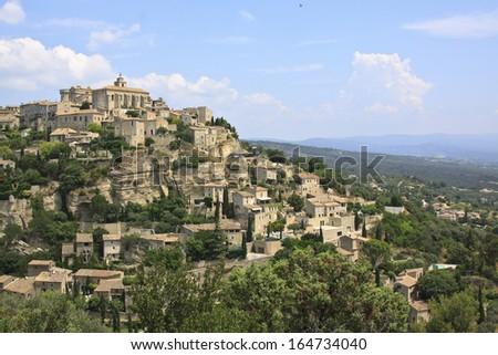 Gordes, Provence, France - stock photo