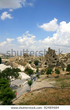 Goreme, Cappadocia. Rock Churches of Goreme Open Air Museum - Anatolia, Turkey