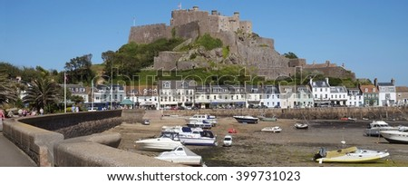 Gorey Castle, Gorey, Jersey, Channel Islands