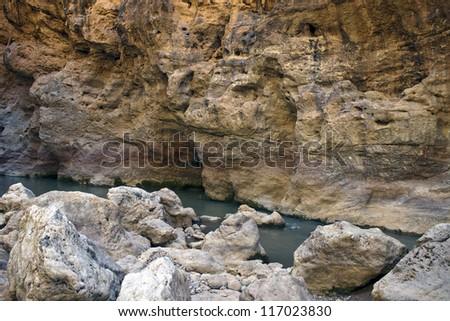 Gorge du Dades, Morocco - stock photo