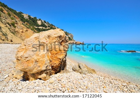 gorgeous mediterranean beach