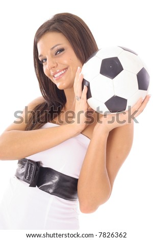 gorgeous soccer girl