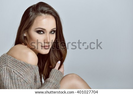 Gorgeous woman. Beauty female portrait.