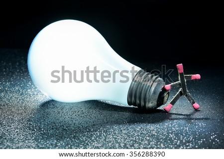 Got A Light - stock photo