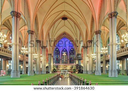 GOTHENBURG SWEDEN DECEMBER 17 2015 Interior Stock Photo Royalty