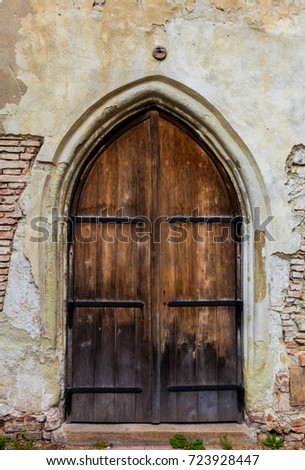 Gothic Cathedral door/wooden door & Gothic Door Stock Images Royalty-Free Images \u0026 Vectors | Shutterstock Pezcame.Com