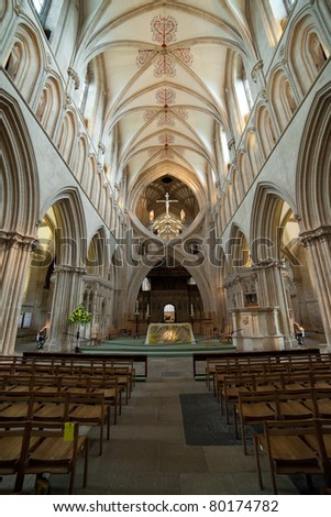 Gothic / Renaissance Architecture : Well's city in England