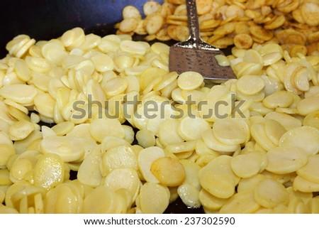 goulash with potato dish poland - stock photo