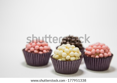 Gourmet Brigadeiros - stock photo