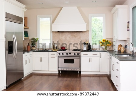 Gourmet Kitchen In A Home