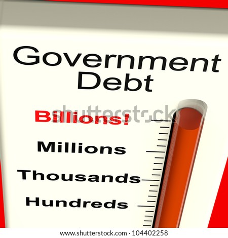 Government Debt Meter Shows Nation Owing Billions