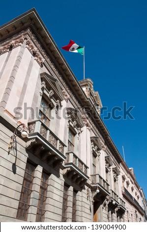 Government palace, Guanajuato (Mexico) - stock photo