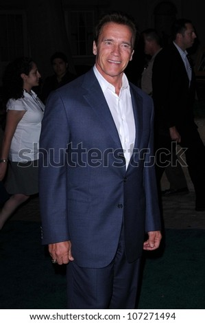 Governor Arnold Schwarzenegger  at the Border Governors Conference Gala. Universal Studios, Universal City, CA. 08-14-08