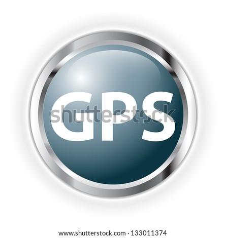 gps - stock photo