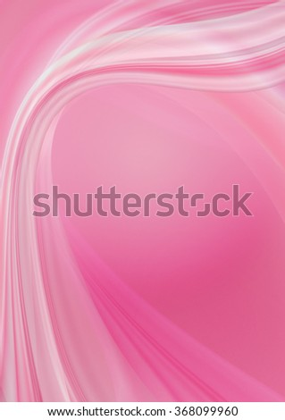 Graceful crimson background with transparent crimson and white curved waves  - stock photo