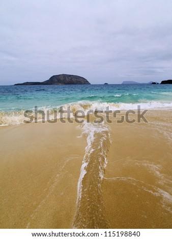Graciosa Island, Canary Islands, Spain - stock photo