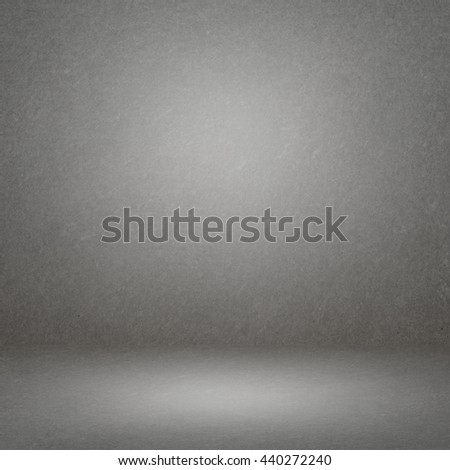 gradient grey room gypsum board texture background - display your products