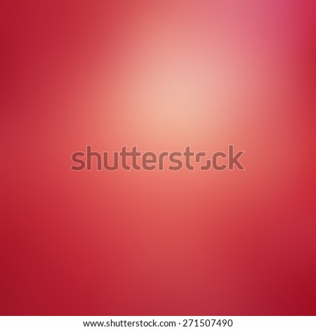 gradient red pink background, gold shiny spotlight or reflection on smooth texture - stock photo