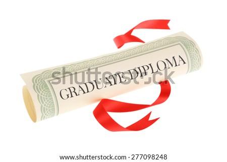 Graduate Diploma - stock photo