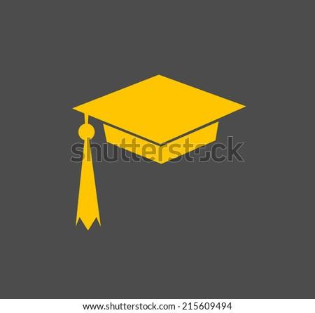 Graduation Cap  - stock photo