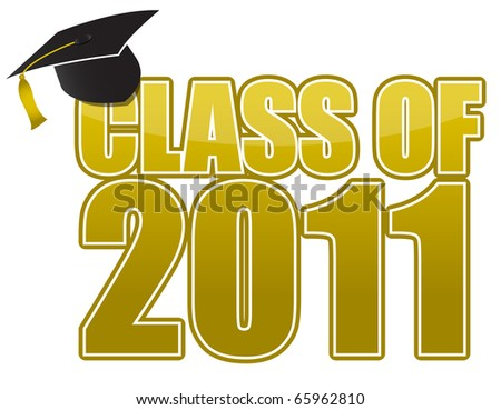 Graduation  cap isolated on white background. / Graduation - stock photo