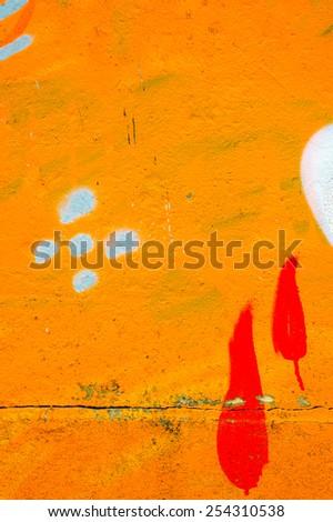 Grafitti backgound - stock photo