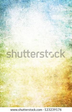 Grain Yellow White Blue Paint Wall Stock Illustration 123239176 ...