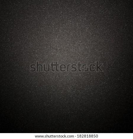 Grainy Black Texture - stock photo