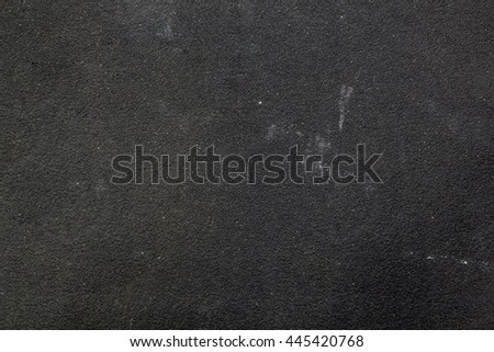 Grainy texture of sandpaper