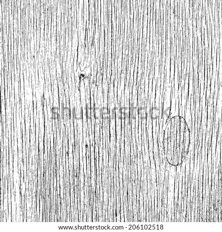 Grainy Wooden Overlay Texture for your design.  - stock photo