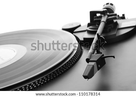 Gramophone - stock photo