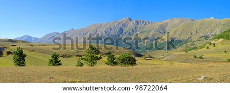 Gran Sasso - stock photo