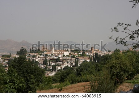 Granada Spain and the Alhambra