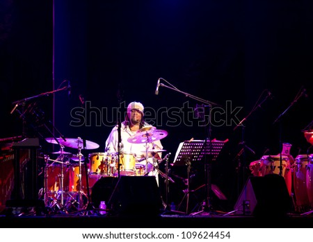 GRANADA, SPAIN - JULY 20:Terreon Gully, Ninety Miles, at the XXV Jazz Festival of Almunecar on July 20, 2012 in Granada, Spain