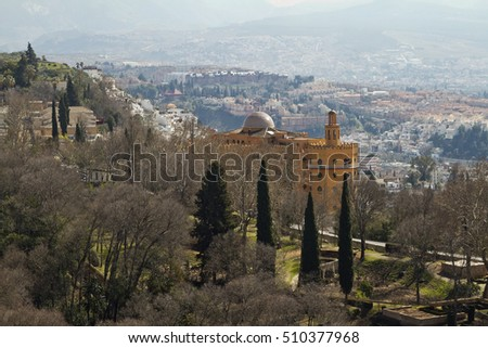 Granada View from Alhambra's ancient walls