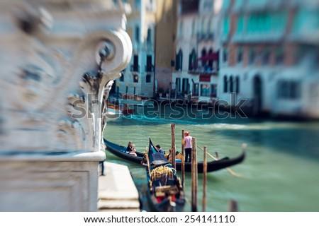 Grand Canal, Venice - Italy  - stock photo