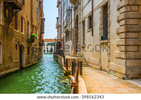 Grand Canal  .Venice.Italy