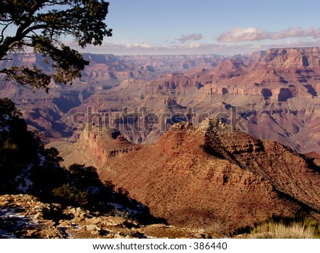 Grand Canyon, Arizona From Desert View, 12/30/04, late AM