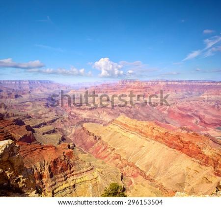 Grand Canyon National Park, Arizona, United States - stock photo