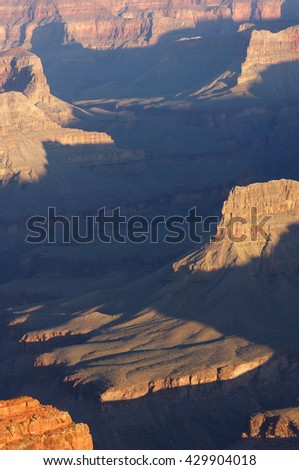 Grand Canyon National Park, Arizona, Usa - stock photo