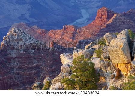 Grand Canyon National Park in Arizona, Usa - stock photo