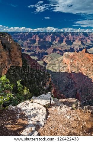 Grand Canyon National Park USA, South Rim - stock photo