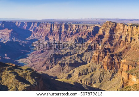 Grand canyon on sunny day,Arizona,usa.
