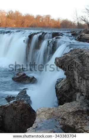 Grand Falls - stock photo