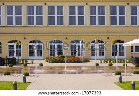 Grand Hotel in Sopot, Poland - stock photo